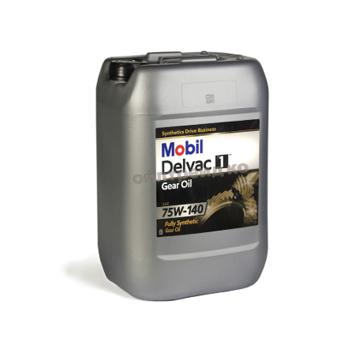 Mobil Delvac Synthetic Gear Oil 75W-140